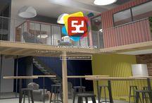 La5D en Images / La Cinquième Dimension Le lieu de travail et l'espace apprenant initié par l'Usine à Belfort