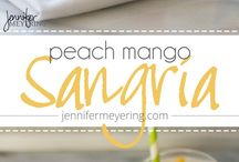 Delish Drinks! / Fun, fruity, refreshing drinks for myself or get-togethers.