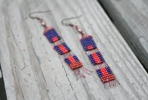 loom earrings