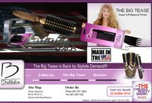 """Apollo Styling First Cut Boars Blend Hair Brush  / APOLLO VI #851B- 3 1/2"""" Large Round for medium to long hair; 20 rows of 100% reinforced Boar Bristle which helps disperse the natural oils from the scalp through the hair leaving hair healthy and conditioned. http://www.battaliausa.com/search.html"""