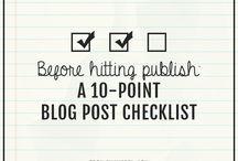 Blogowanie / Tipsy dla blogera