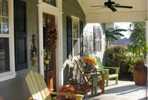 Front porch / by Jenny Jacobus-Corona