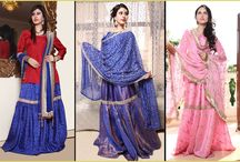 Bridal wear / Beautiful and customised Ghararas.