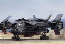 Sci-fi - Spaceships