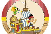festa jake e os piratas