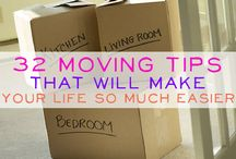 Moving Tips . / by Bree Salgado