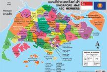 ภูมิประเทศ สิงคโปร์ Singapore