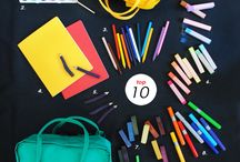 Back to school and art supplies