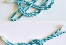 Узелковые браслеты