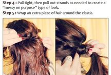 hair, nails, etc. / by Rachel Hagen