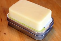 lotion bars and soap