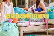 Spring Break Basics / Spring Break is all about breaking through the colder seasons into warm, sunny days on a remote beach somewhere. Not going to the beach? You can still enjoy our Spring Break Basics picks! / by Initials, Inc