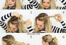 hair for job