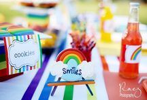 Rainbow Party Ideas / by Gretchen | Three Little Monkeys Studio