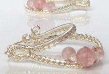 Wire wrap - Earrings / Проволока - серьги / Серьги из проволоки