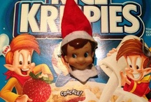 elf on shelf / by Brittany Hughes