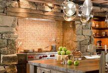 Rustikke kjøkken