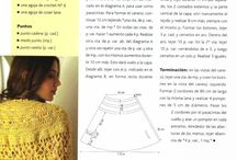 tejidos / crochet y 2 agujas