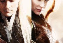 Legolas y Tauriel