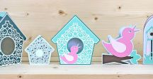 Birdhouse SVG Collection / Projects from the Birdhouse SVG Collection: www.birdscards.com/store/index.php?route=product/product&path=59&product_id=50