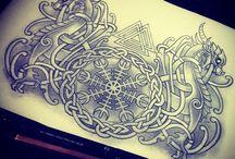 Viking tattoovorlage