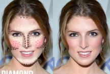 Contour By Face Shape / How to contour perfectly with your face shape.