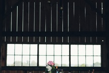 barn meals / reception / by Viva Wedding Photography