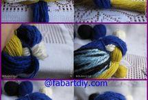 animali lana feltro