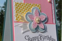 Triple Treat Flower-Retired / Made using Stampin' Up! Triple Treat Flower (retired).  This was always a popular one!