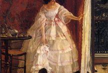 Alfred Stevens (1823-1906) / Art from Belgium.