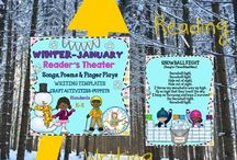 JANUARY LITERACY RESOURCES / Literacy resources for children ages 3-12