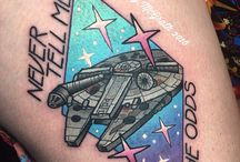 May the 4th Be With You / May the 4th is almost here - these are the tattoos you're looking for.