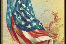 America /  God bless America, land that I love...