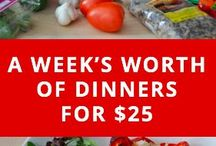 Budget Recipes & Saving Money