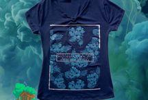 Camisetas de Mujer / Camisetas en algodón 90% y spandex 10%. Corte muy femenino y geniales estampados