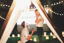 How to ask / Wedding Proposal Ideas