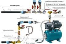 водоснабжение, водонагреватели, подключение