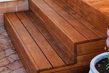 scara de lemn