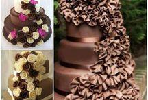 Chocolate Cascade Cakes