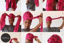 technique foulard