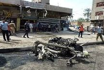 Baghdad ... killing 57 people and injuring more than 100 bombings targeting a popular neighborhood and Shi'ite