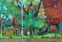 Oil pastels / by Irene Wainwright