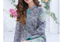 Alkaram Two Piece Embroidered Lawn Collection 2016