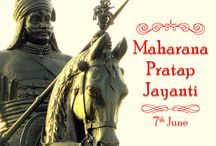 Maharana Pratap Jayanti / His birth anniversary (Maharana Pratap Jayanti) is celebrated as full fledged festival every year on 3rd day of Jyestha Shukla phase. The date of Pratap Jayanti in 2016 is 7 June. Maharana Pratap has gained amazing respect and honor as he is seen as an epitome of valor, heroism, pride, patriotism and the spirit of independence.