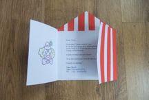 Uitnodigingen / Uitnodigingen voor een kinderfeestje die je zelf kunt maken.
