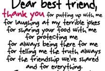 Dear Best Friend❤