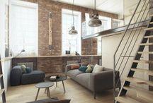 living & kitchen | soft loft