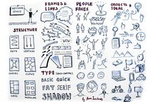 Graphic facilitation / Visual thinking / Sketchnote tips