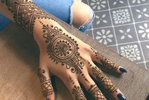 Henna / The spaces between your fingers were created so that another could fill them in.