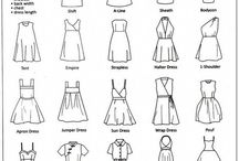 Clothing patterns / by Jenny DeMott Wise